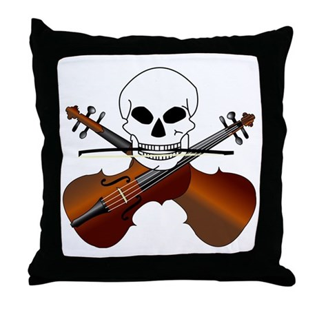 Violin Master Throw Pillow