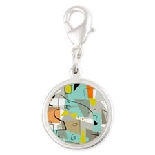 Mid-Century Modern Abstract Charms