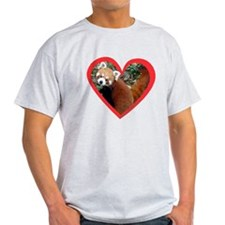 Red Panda Heart T-Shirt