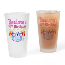 CELEBRATE 65 Drinking Glass