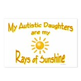 Rays Of Sunshine (Daughters) Postcards (Package of