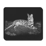 Serval Mousepad