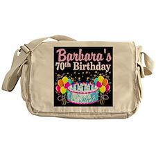 70TH PARTY GIRL Messenger Bag