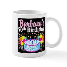 70TH PARTY GIRL Small Mug