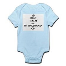 Keep Calm and My Pacemaker ON Body Suit