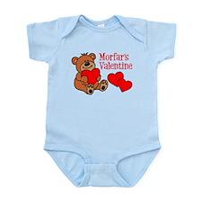 Morfar's Valentine Cartoon Bear Body Suit