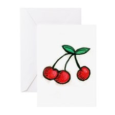 Cute Little Cherries Greeting Cards (Pk of 20)