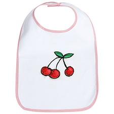 Cute Little Cherries Bib