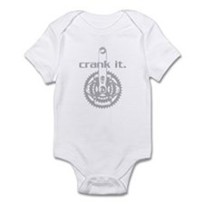 CRANK IT CYCLING Infant Bodysuit