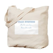 Team Stepmom Tote Bag