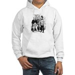 The Master Presides. Hooded Sweatshirt