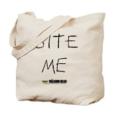 The Walking Dead Bite Me Tote Bag