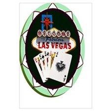 Las Vegas Welcome Sign Poker Chip