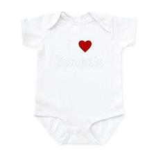 I Heart Domenic Infant Creeper