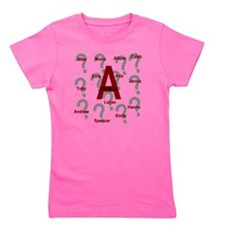 Who is A Collage?? Girl's Tee