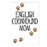 English Coonhound Mom Postcards (Package of 8)