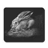 """Sage II"" Black-tailed Jackrabbit Mousepad"