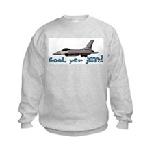 Cool Yer Jets - blue Sweatshirt