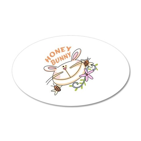 HONEY BUNNY Wall Decal