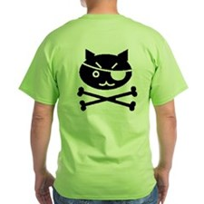 PIRATE CAT (BLK) T-Shirt