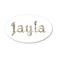 Jayla Seashells 20x12 Oval Wall Decal