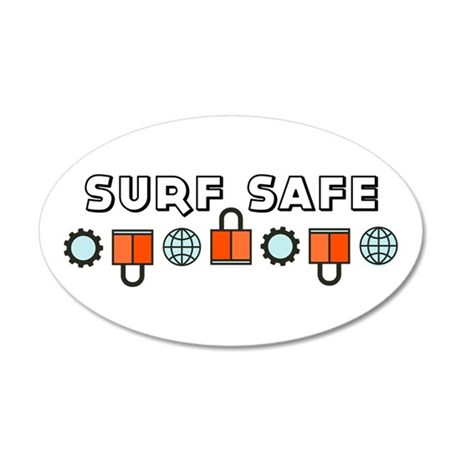 Surf Safe Wall Decal