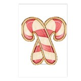 Candy Cane Cookies Postcards (Package of 8)