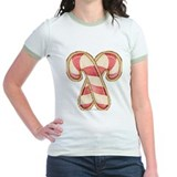 Candy Cane Cookies Jr. Ringer T-shirt