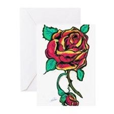 Rose Greeting Cards (Pk of 20)