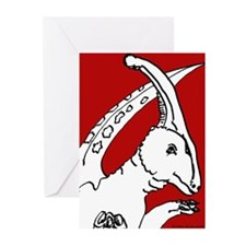 Parasaurolophus Red! Greeting Cards (Pk of 20)