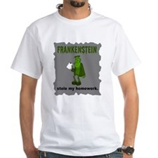 Frankenstein Stole My Homewor Shirt
