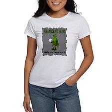 Frankenstein Stole My Homewor Tee