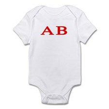 Alpha Beta Infant Bodysuit