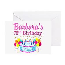 75TH CELEBRATION Greeting Card