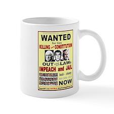 Wanted bush cheney Out Laws Mug