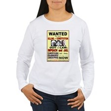 Wanted bush cheney Out Laws T-Shirt