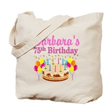 75TH CELEBRATION Tote Bag