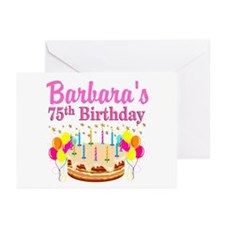 75TH CELEBRATION Greeting Cards (Pk of 20)