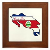 Cool Costa Rica Framed Tile