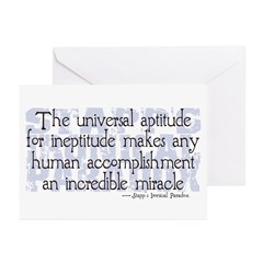 Stapp's Paradox Greeting Cards (Pk of 20)