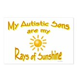 Rays Of Sunshine (Sons) Postcards (Package of 8)