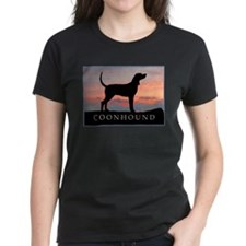 Sunset Coonhound Tee