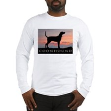 Sunset Coonhound Long Sleeve T-Shirt