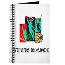 Abstract Basketball Players Journal