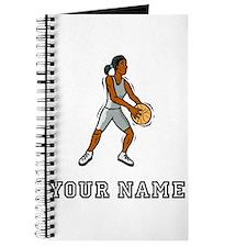 Cartoon Basketball Player Journal