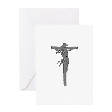 Calvary Greeting Card