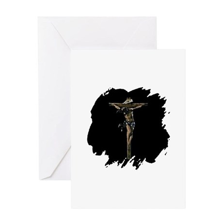 Jesus on the Cross Greeting Card