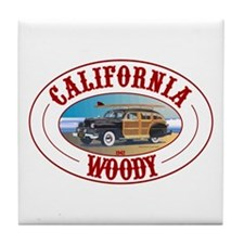California Woody Tile Coaster