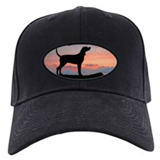Redbone Coonhound Sunset Baseball Hat