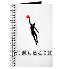 Basketball Player Silhouette Journal